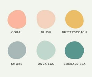 blue, blush, and colors image