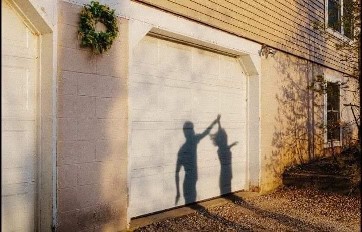 couple, dance, and garage door image