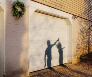 couple, dance, and garage door image