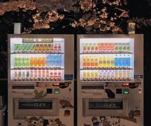 japan, kawaii, and vending machine image