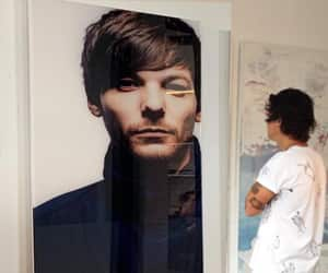 aesthetic, art, and louis tomlinson image