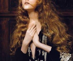 Vlada Roslyakova, model, and hair image