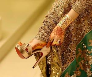 bride, arabische, and fashion image