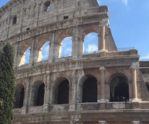 architecture, art, and colosseum image