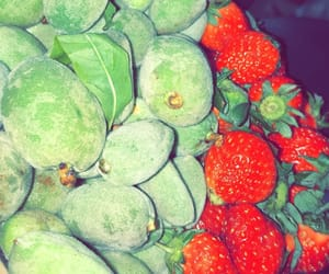 yummy delicious, greens fruit strawberry, and food eating healthy image