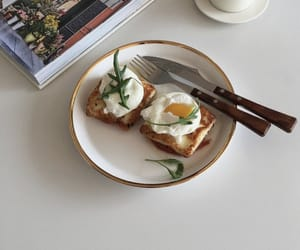food, aesthetic, and eggs image