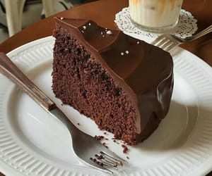 cake, chocolate, and tasty image
