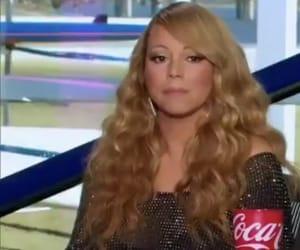 Mariah Carey and reaction image