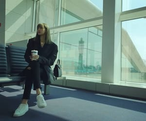 aesthetic, airport, and beautiful image