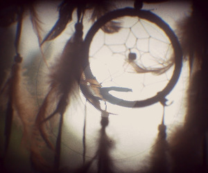 dreamcatcher, indian, and old cameras image