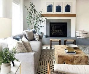 interior, home decor, and living room image