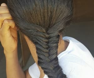 braid, fashion, and long hair image