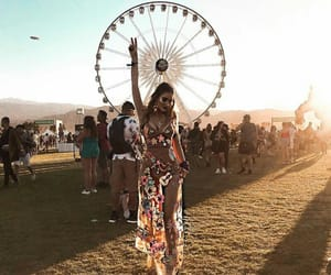 coachella, girl, and outfit image