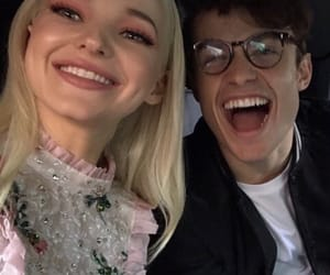icons, dove cameron, and thomas doherty image