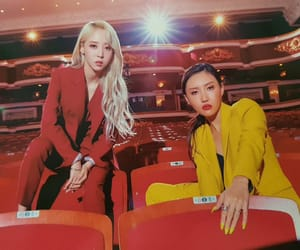 mamamoo, moonbyul, and hwabyul image