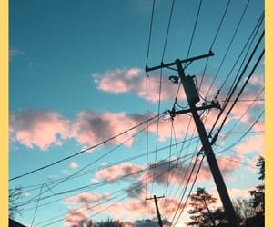 aesthetic, candy, and clouds image