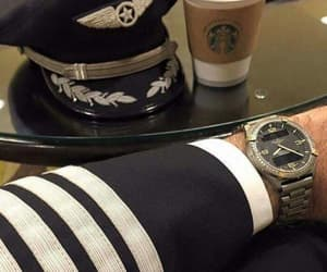 aviation, captain, and classic image