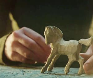 carving, horse, and toy image