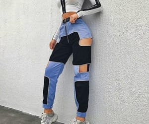 blue and clothes image