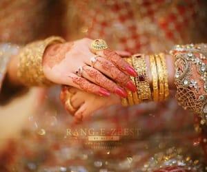 beauty, indian bride, and shaadi image