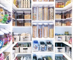 breakfast, pantry, and storage image