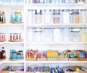 groceries, organization, and pantry image