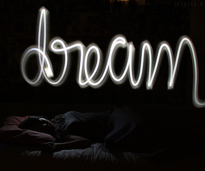 Dream, light, and sleep image