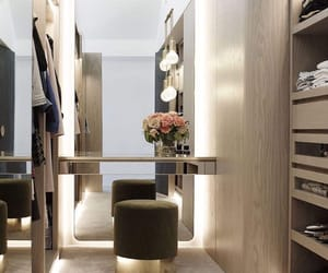 closet, flowers, and interior image