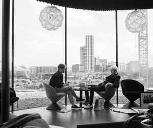 black and white, city, and the vamps image