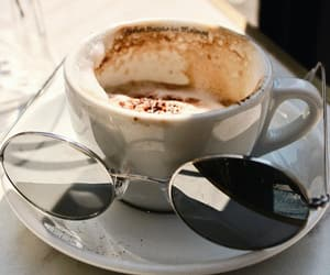 blogger, cafe, and cappuccino image