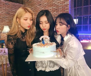 yewon, sowon, and yuju image