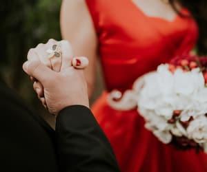 beautiful, wedding, and love image