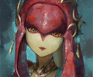 the legend of zelda, breath of the wild, and mipha image