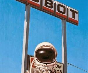 astronauta and robot image