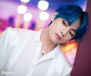 blue hair, idols, and kpop image