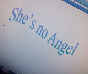 blue, aesthetic, and angel image