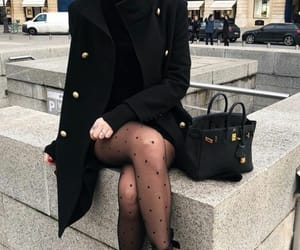 style, black, and fashion image