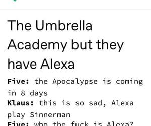 fandom, funny, and the umbrella academy image
