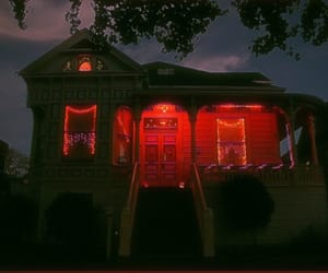 horror, house, and scary image