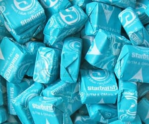 blue, candy, and starburst image