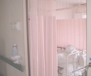 hospital and pink image