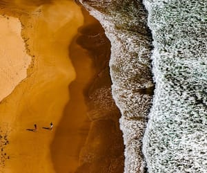 aerial photography, aerial view, and beach image