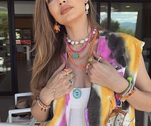 gigi hadid, coachella, and fashion image