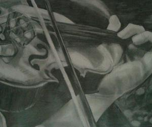 art, drawing, and music image