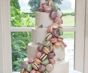 beautiful, cake, and green image