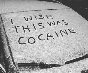 cocaine, drugs, and snow image