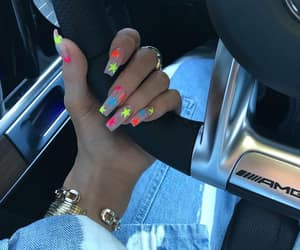 nails, kylie jenner, and stars image