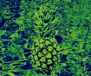 abstract, fruit, and green image