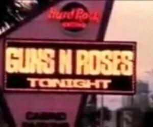 Guns N Roses, music, and vintage image