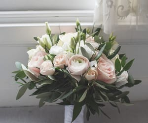 bouquet, celebration, and flowers image